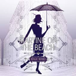 pochette album enregistré Martine On the Beach